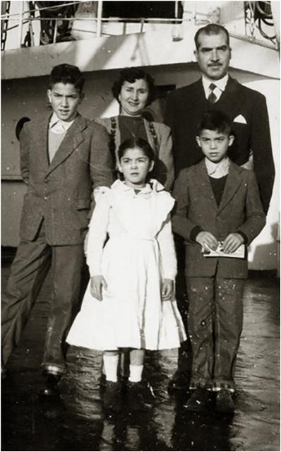 Generalschneider y familia joven